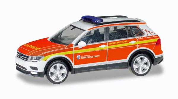 "Herpa 094443 - VW Tiguan Kommandofahrzeug ""Freiwillige Feuerwehr Norderstedt"" - 1:87"
