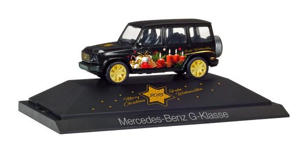 """Herpa 102124 - Mercedes-Benz G-Klasse """"Herpa Weihnachts-PKW 2018"""" - 1:87"""