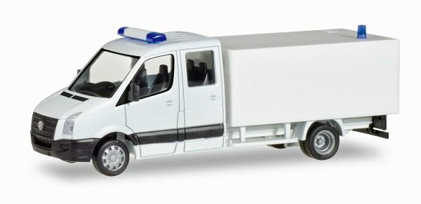 Herpa 013185 - Herpa MiniKit: VW Crafter mit Kofferaufbau, weiß - 1:87