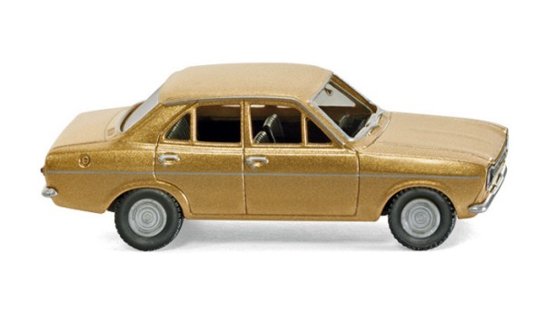 Wiking 020302 - Ford Escort - gold metallic - H0