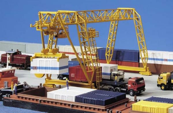 Kibri 38530 (8530) - Demag Containerkran - H0