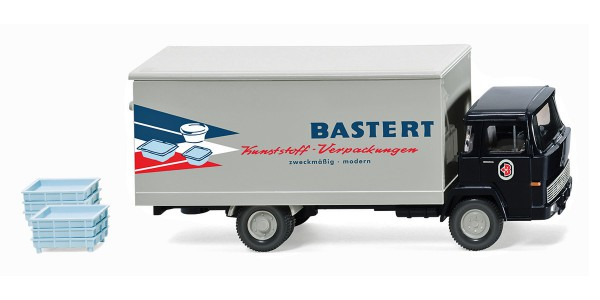 "Wiking 042501 - Koffer-Lkw (Magirus 100 D7) ""Bastert"" - 1:87"