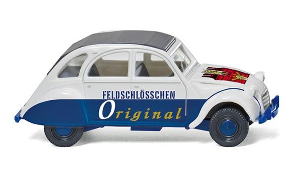 """Wiking 080912 - Citroën 2 CV """"Feldschlösschen Original"""" - 1:87"""