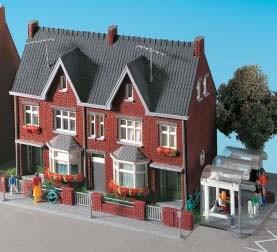 Kibri 38323 (8323) - Haus Bussardstraße - H0