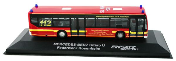 Rietze 66898 - Mercedes-Benz Citaro Feuerwehr Rosenheim MTW - 1:87 - Einsatzserie
