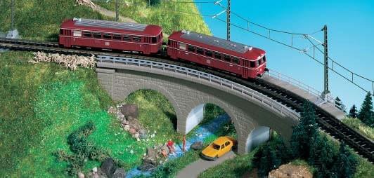 Kibri 37661 (7661) - Zegnitz-Brücke eingleisig - N / Z