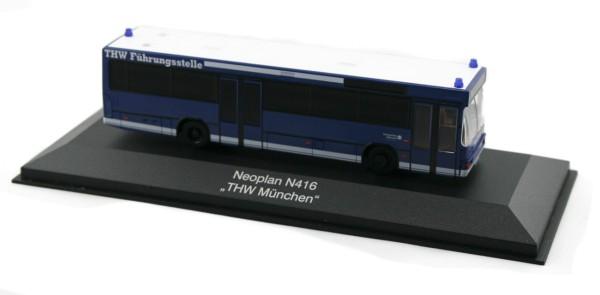 Rietze 71700 - Neoplan N416 THW München.Mitte - 1:87 - Einsatzserie