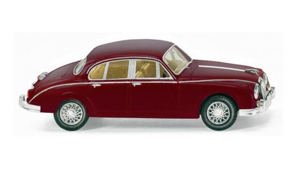 Wiking 081304 - Jaguar MK II - weinrot - 1:87