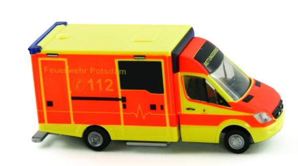 Rietze 72014 - WAS Ambulanz Design-RTW Feuerwehr Potsdam - 1:87