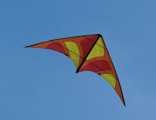 Spiderkites Lenkdrachen Tibellus - retro orange - Spannweite 185 cm