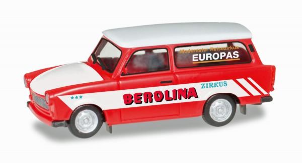 "Herpa 092739 - Trabant 601 Universal ""Zirkus Berolina"" - 1:87"