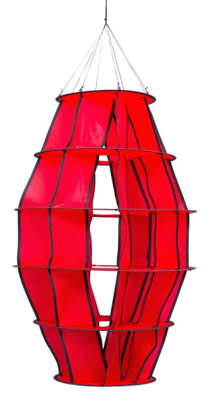 "Invento-HQ Windspiel Hoffmanns Lampion ""S"" Red (48 x 104 cm)"