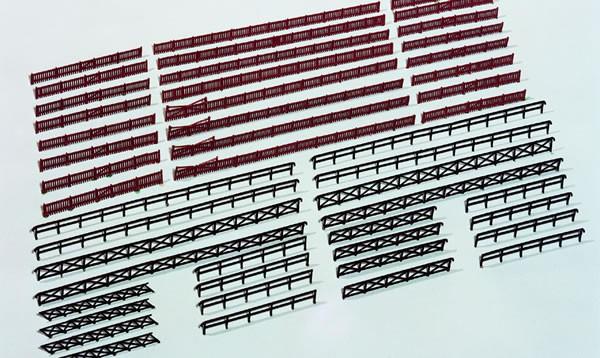 Kibri 37480 (7480) - Zaun für Industrie- und Bahnanlagen - N (1m=2,89€)