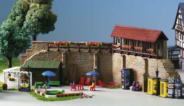 Kibri 38916 (8916) - Stadtmauer mit Kleingarten in Weil der Stadt - H0