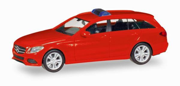 Herpa 013284 - Herpa MiniKit: Mercedes-Benz C-Klasse T-Modell, rot - 1:87