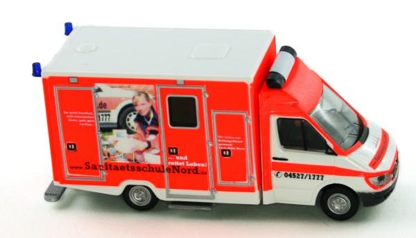 Rietze 61798 - WAS RTW Sprinter Sanitätsschule Nord - 1:87