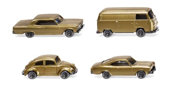 Wiking 091006 - Drei Pkw und ein Kleinbus 50 Jahre N-Spur - 1:160