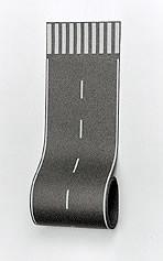 Vollmer 47357 - Straßenfolie mit Zebrastreifen - N (7357) - Länge: 100cm