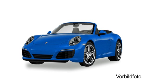 Herpa 038843 - Porsche 911 Carrera 2 Cabrio, saphirblau metallic - 1:87