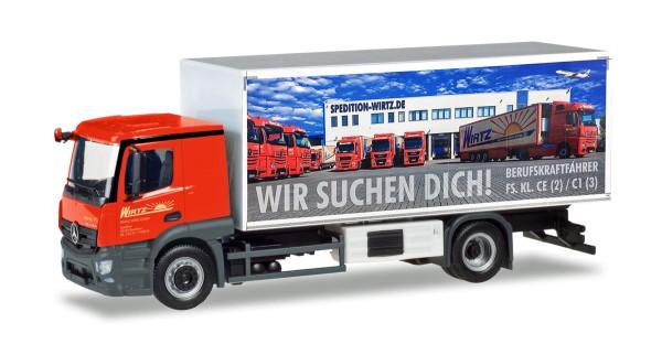 "Herpa 309295 - Mercedes-Benz Actros Classicspace Kühlkoffer-LKW ""Wirtz"" - 1:87"