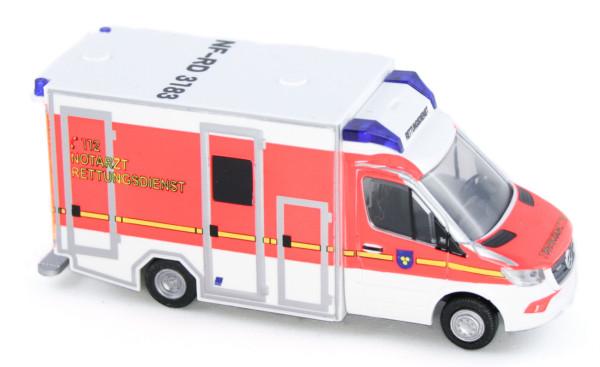 1//87 Rietze GSF RTW /' 18 Rettungsdienst Nordfriesland 76229