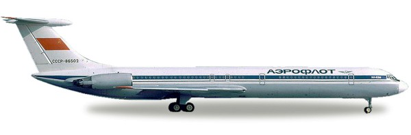 Herpa Wings 530842 - Aeroflot Ilyushin IL-62M - CCCP-86502 - 1:500