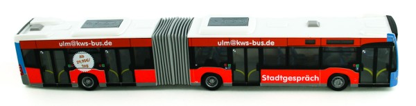 Rietze 69552 - Mercedes-Benz Citaro G '12 SWU Ulm - 1:87