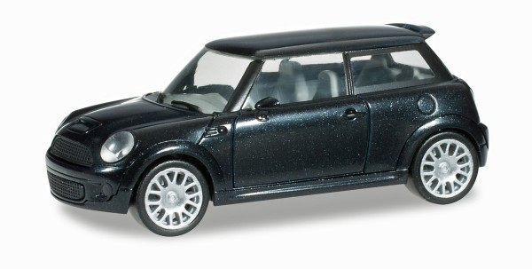 herpa 033626-002 - Mini Cooper S™, midnightblack metallic - 1:87