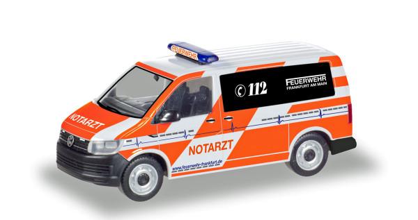 """Herpa 094986 - VW T6 Notarzt """"Feuerwehr Frankfurt/Main"""" - 1:87"""