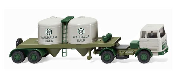 "Wiking 053403 - Chemikaliensattelzug (MB 1620) ""Walhalla Kalk"" - 1:87"