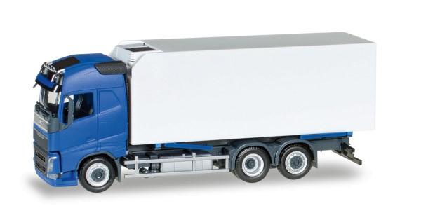 Herpa 307079 - Volvo FH Gl. Kühlkoffer-LKW, blau/weiß - 1:87