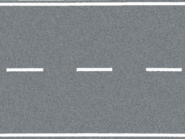 NOCH 60703 - Bundesstraße, grau, 100 x 8 cm - H0