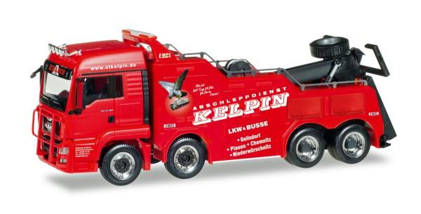 """Herpa 308410 - MAN TGS LX Euro 6 Empl Bison """"Kelpin"""" - 1:87"""