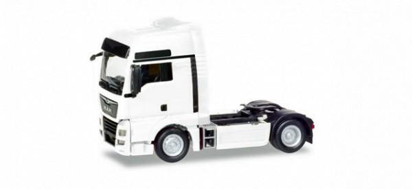 Herpa 308304 - MAN TGX XXL Euro 6c Zugmaschine, weiß - 1:87