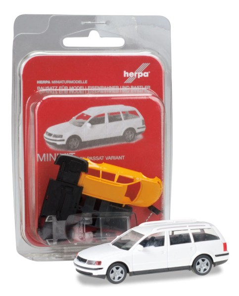 Herpa 012249-005 - Herpa MiniKit: VW Passat Variant, weiß - 1:87