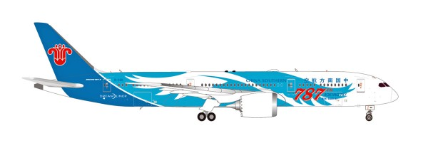 """Herpa Wings 533300 - China Southern Airlines Boeing 787-9 Dreamliner """"787th 787"""" - B-1168 - 1:500"""