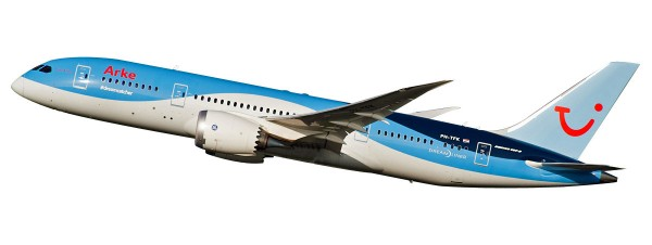 Herpa Wings 611459 - TUI Airlines Boeing 787-8 Dreamliner Netherlands (Arkefly) - 1:200 - Snap-Fit