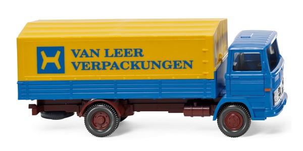 """Wiking 043701 - Pritschen-Lkw (MB 1317) """"Van Leer"""" - 1:87"""