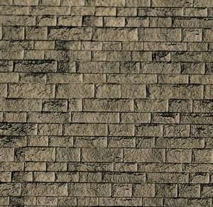 Vollmer 46049 - Mauerplatte Haustein, natur - Karton - H0 (6049) - Fläche: 0,031m²
