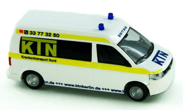 Rietze 53612 - VW T5 GP Bus MD GP - KTN Krankentransport Nord UG. Berlin - 1:87