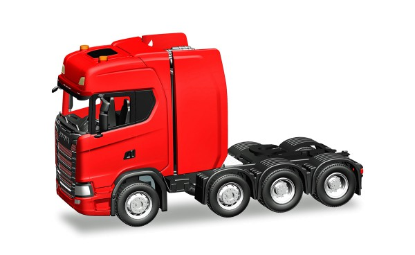 Herpa 308601 - Scania CS HD Schwerlastzugmaschine, rot - 1:87
