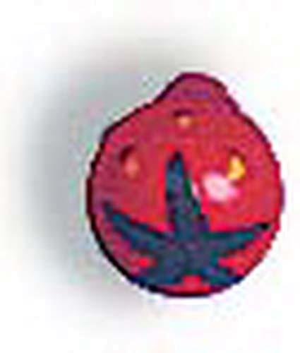 Erdbeeren aus Holz - 12 Stück (7063)