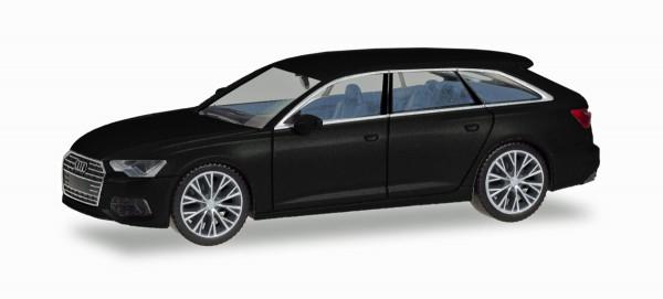 Herpa 430685 - Audi A6 ® Avant, brillantschwarz mit zweifarbigen Felgen - 1:87