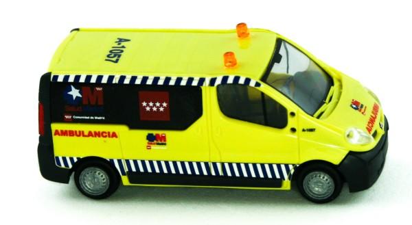 Rietze 51389 - Renault Trafic Ambulancia Madrid (ES) - 1:87