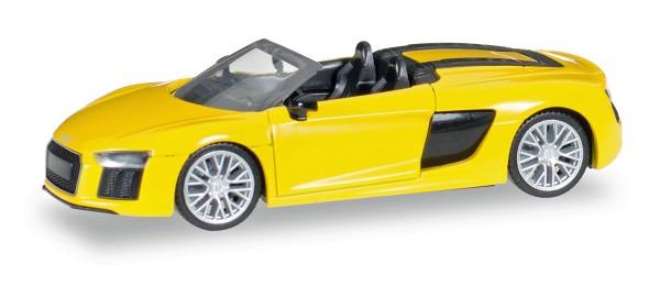 Herpa 028691 - Audi R8 Spyder, vegasgelb - 1:87