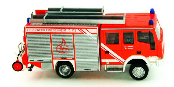 Rietze 68124 - Iveco Eurofire FW Friesenheim - 1:87