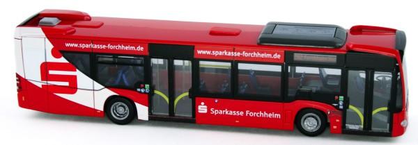 Rietze 69489 - Mercedes-Benz Citaro 12, DB Frankenbus - Sparkasse Forchheim - 1:87 - Bahn Edition Nr