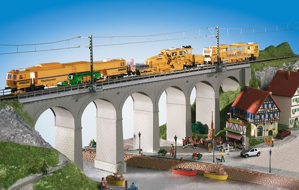 Kibri 39724 (9724) - Aachtal - Viadukt eingleisig - H0