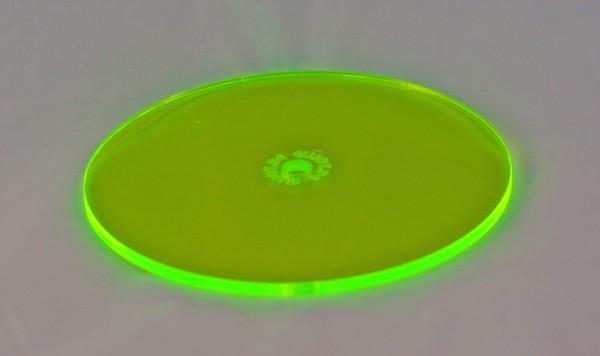 Lichtzauber Sonnenfänger - Scheibe klein, Ø 10 cm, grün (Elliot 1019021)