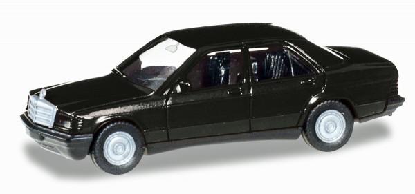 Herpa 012409-005 - Herpa MiniKit: Mercedes-Benz 190 E, schwarz - 1:87